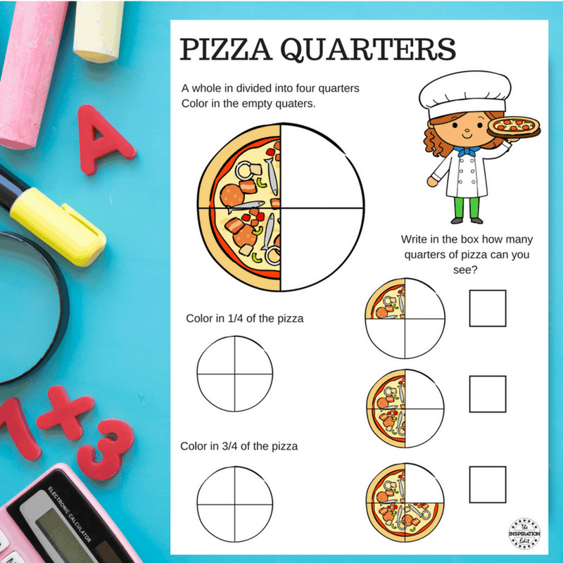 pizza fraction worksheets for kids  the inspiration edit download your pizza fractions worksheet here