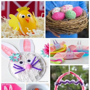 20 Easter Crafts to do with the Kids (2)