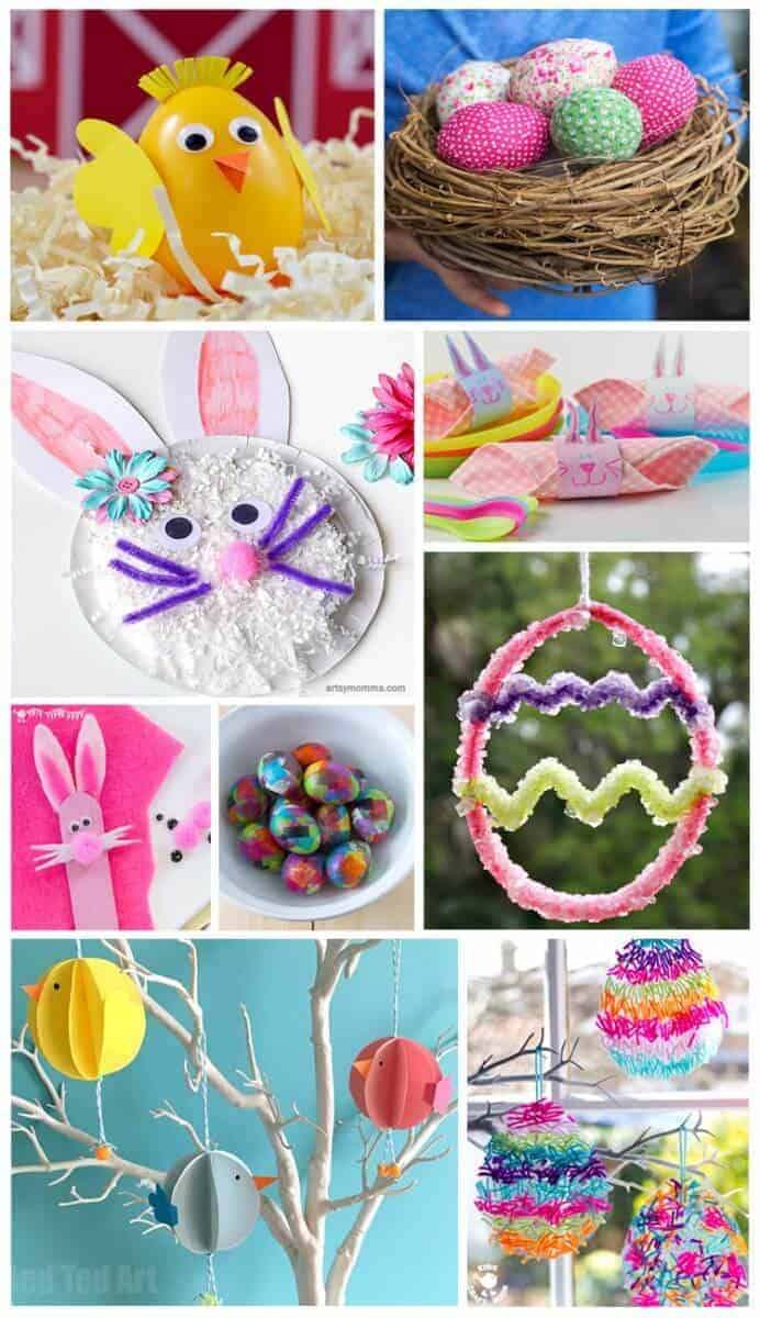20 Simple And Fun Easter Crafts To Do With Kids The Inspiration Edit