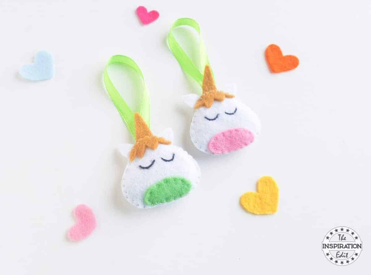 unicorn plush sewing craft