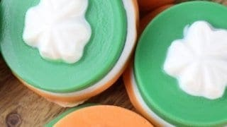 Saint Patricks Day Shamrock Oreo Cookies