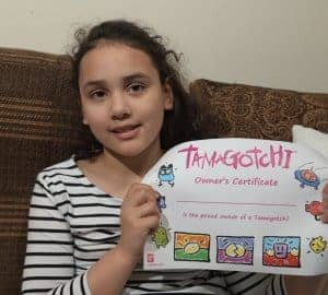 tamagotchi certificate