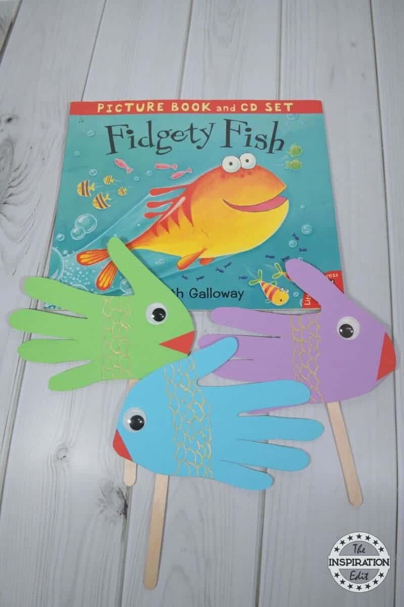 fidigity fish craft for kids