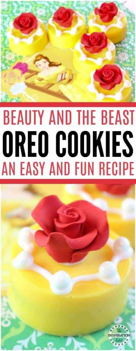 beauty and the beast oreo cookies