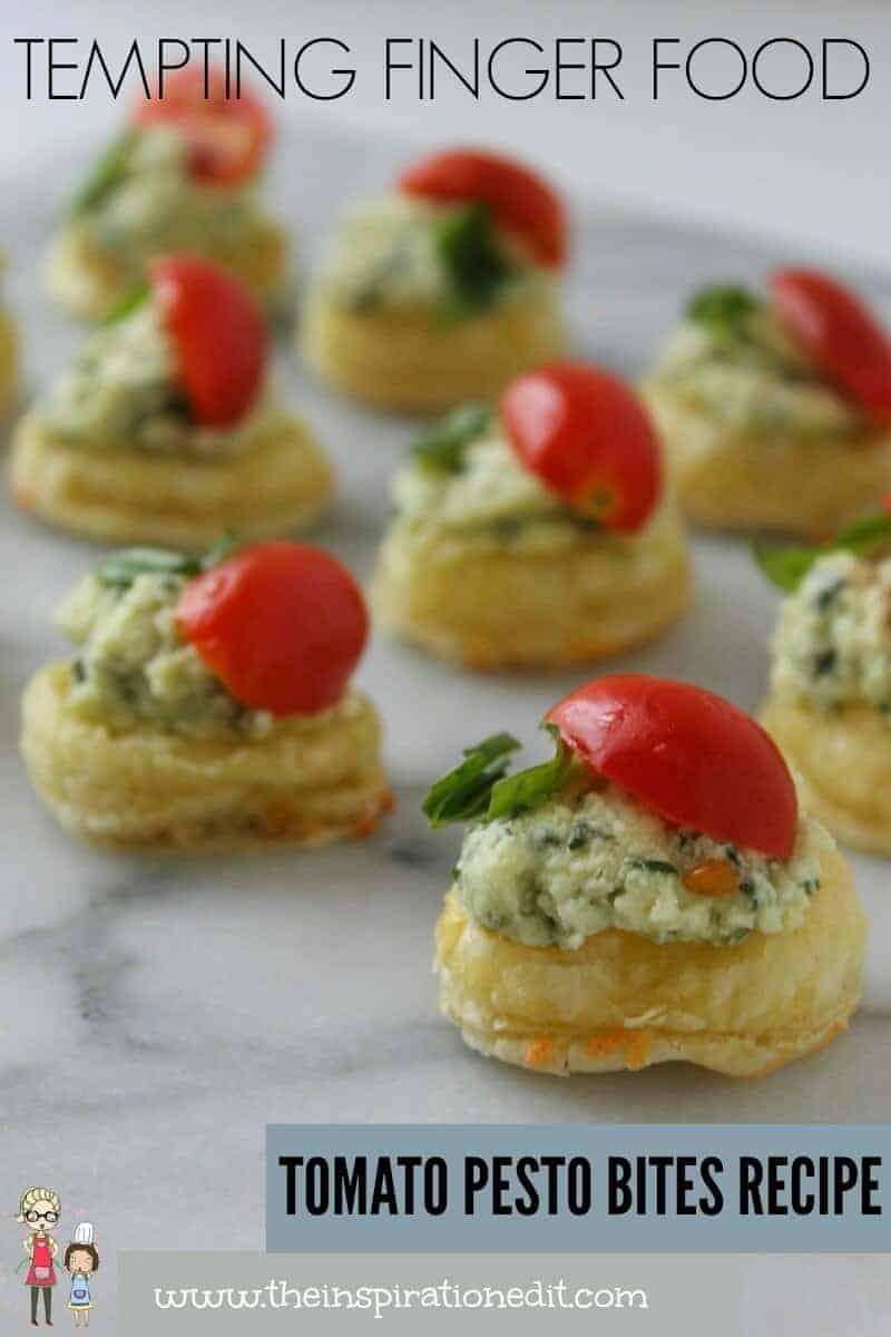 How To Make Pesto With A Tomato Bites Recipe