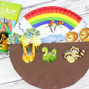 Ark Paper Plate Craft