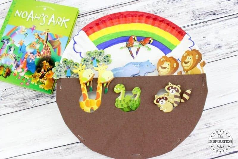 Noah's Ark Paper Plate Craft