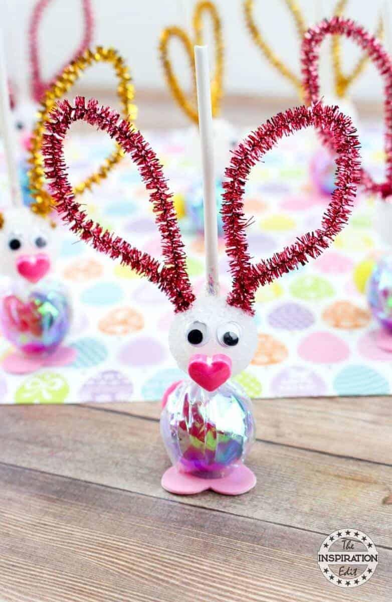 easter bunny lollipops