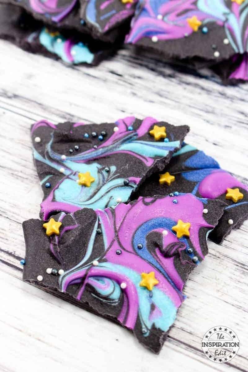 Chocolate Galaxy Bark