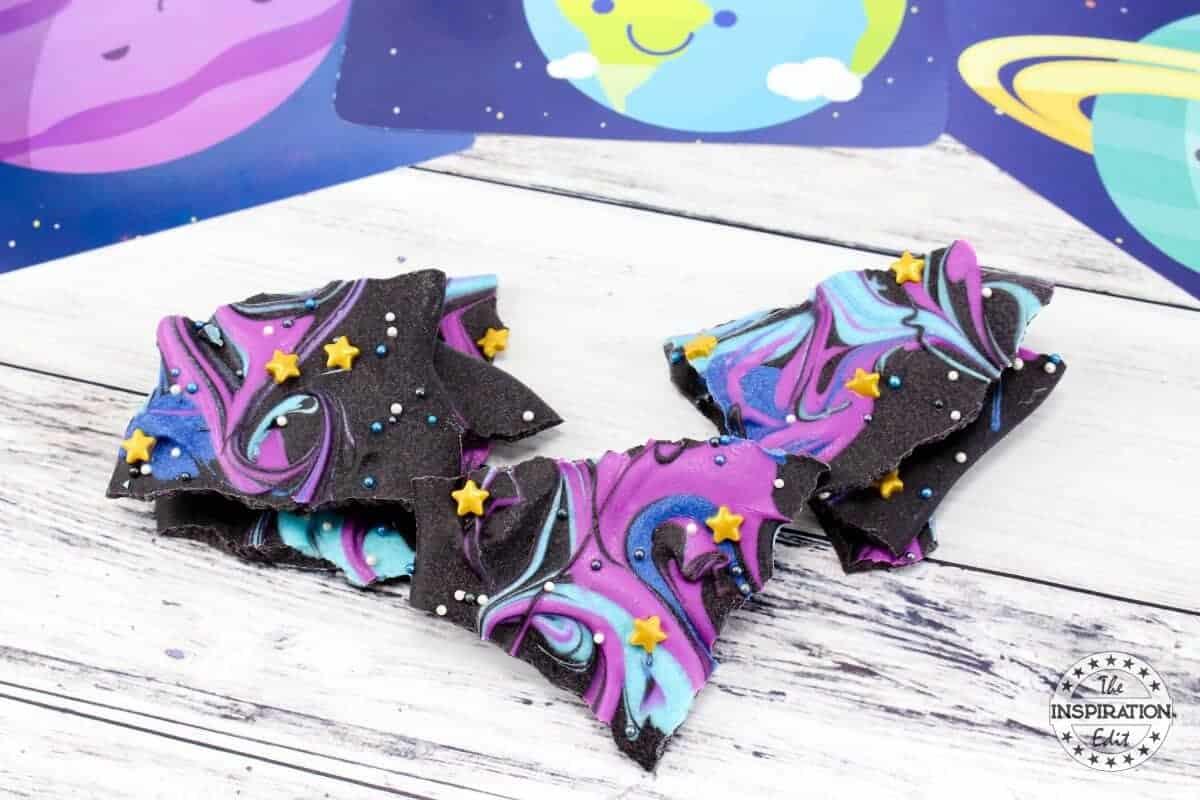 galaxy bark fun food idea