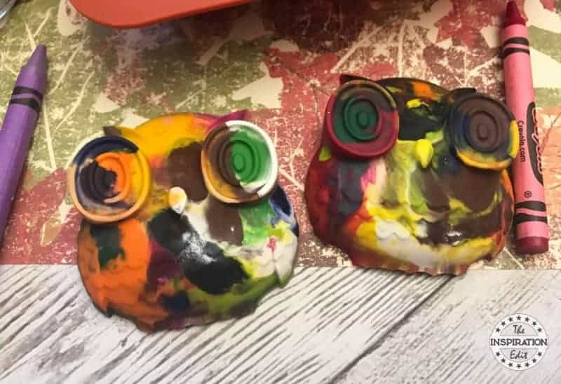 How To Melt Crayons recycled owl crayons