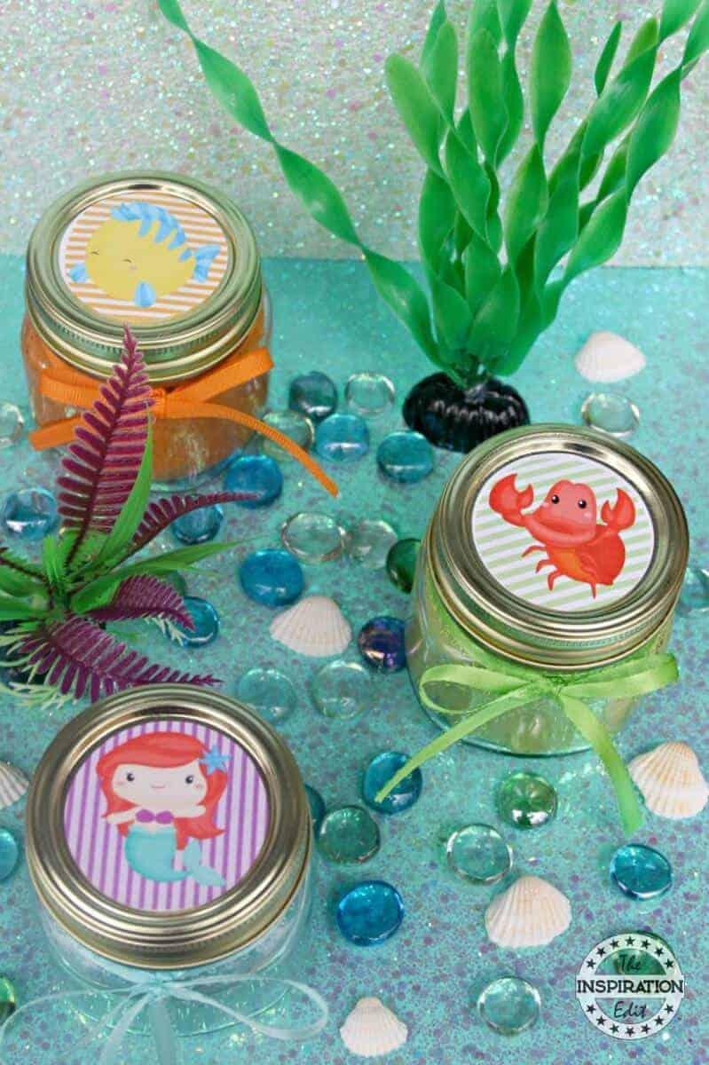 The Little Mermaid Glitter Play Doh Recipe