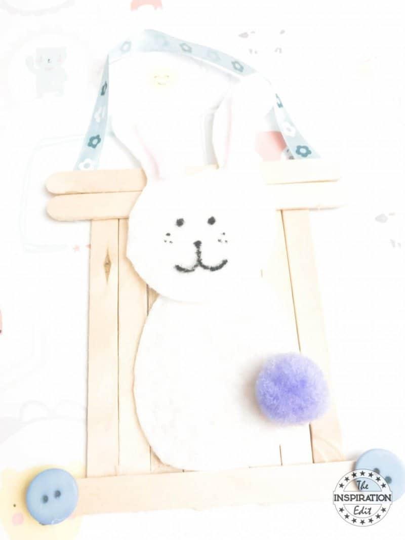 DIY Bunny Craft For Kids