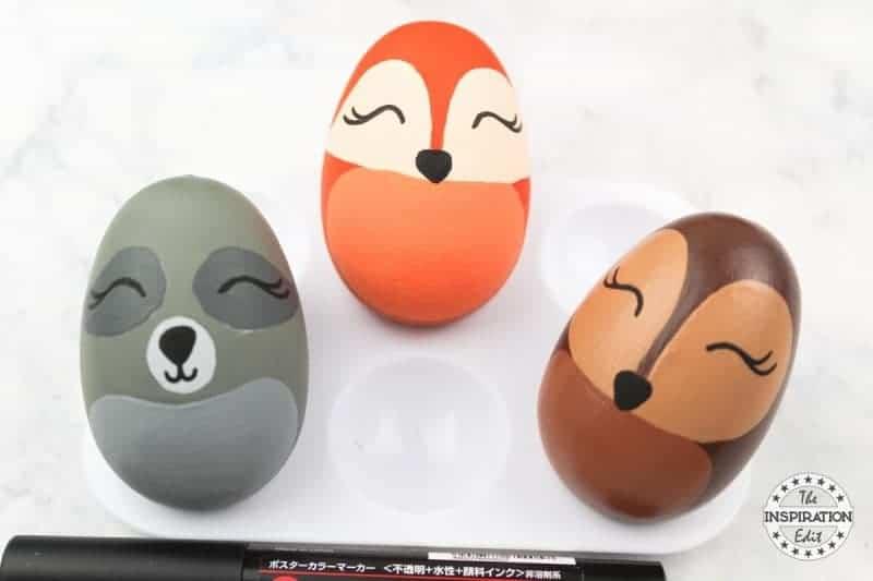 woodland animal eggs