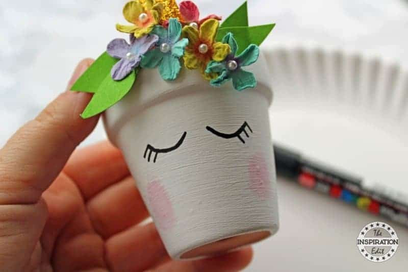 DIY Unicorn planter idea