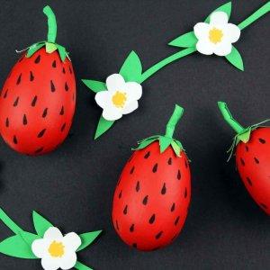 Strawberry Blossom Craft