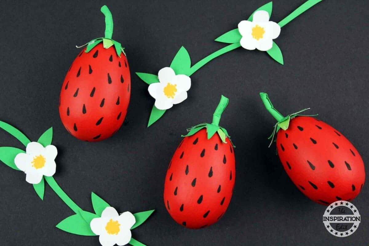 Strawberry Craft For preschoolers
