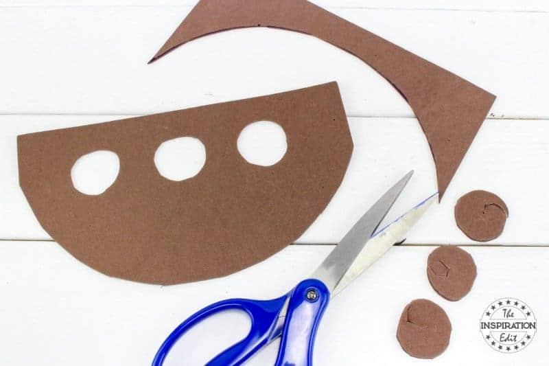 Noahs Ark Craft Idea Cutting out the ark