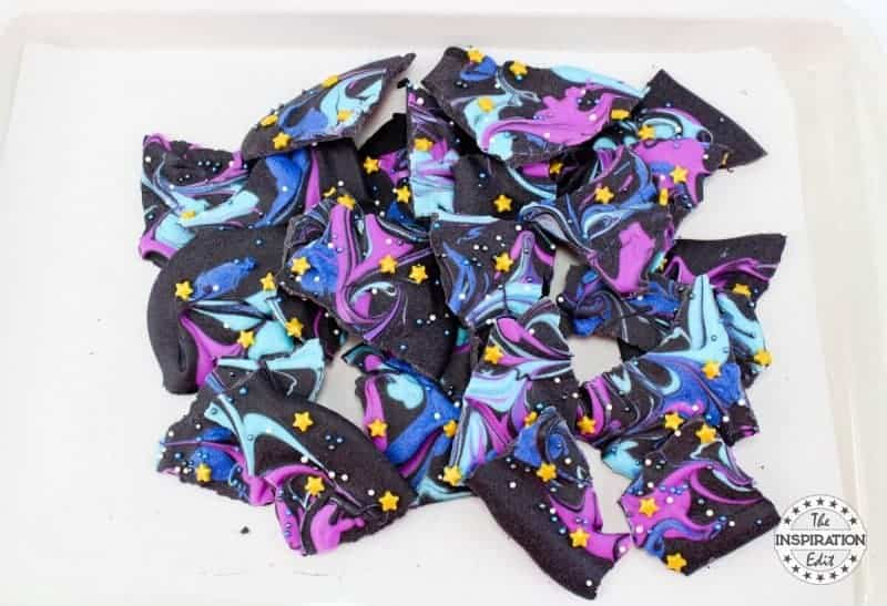 Chocolate Galaxy Bark