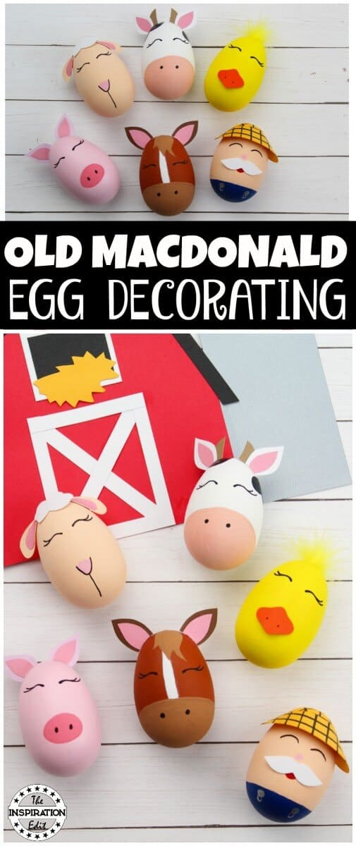 old macdonald egg decorating