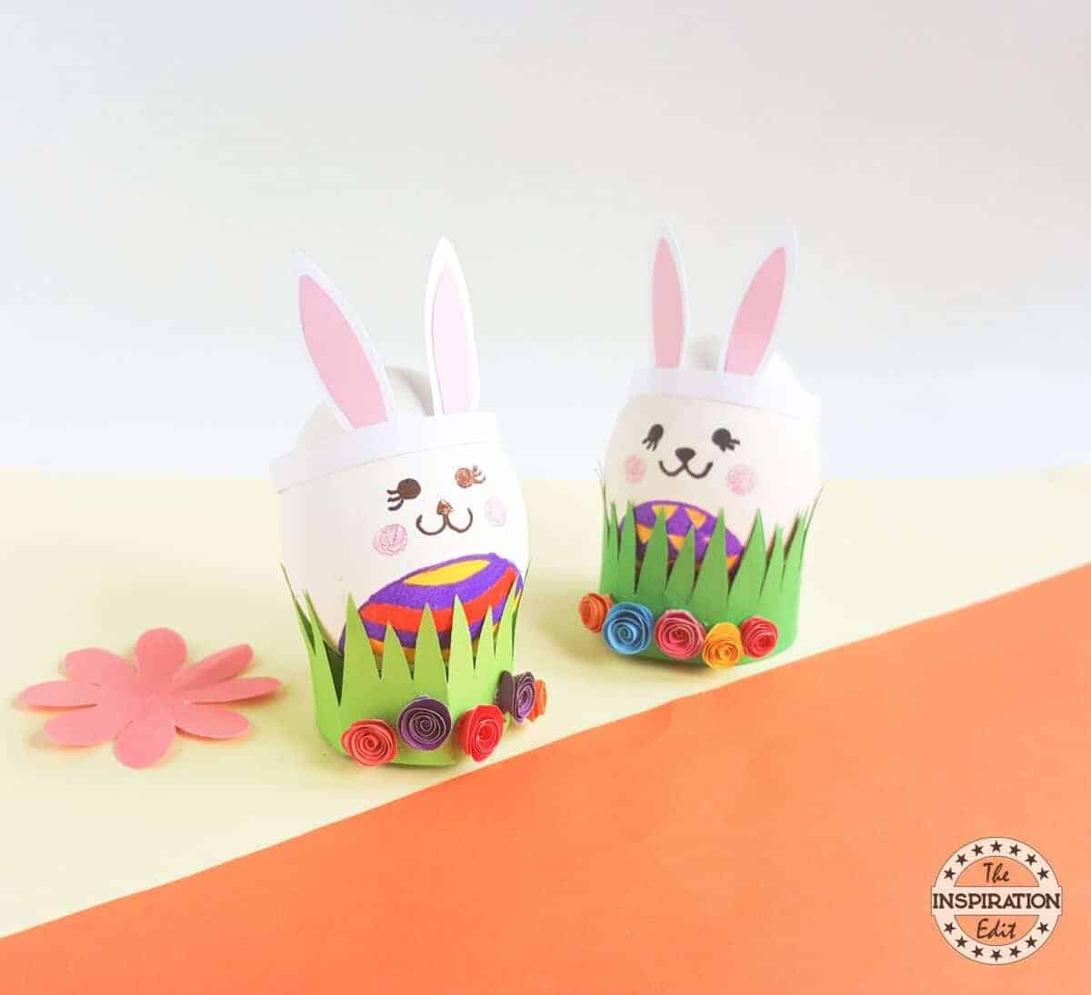 easter bunny eggs