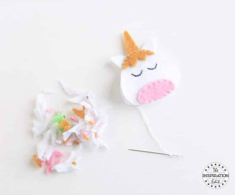 unicorn felt craft