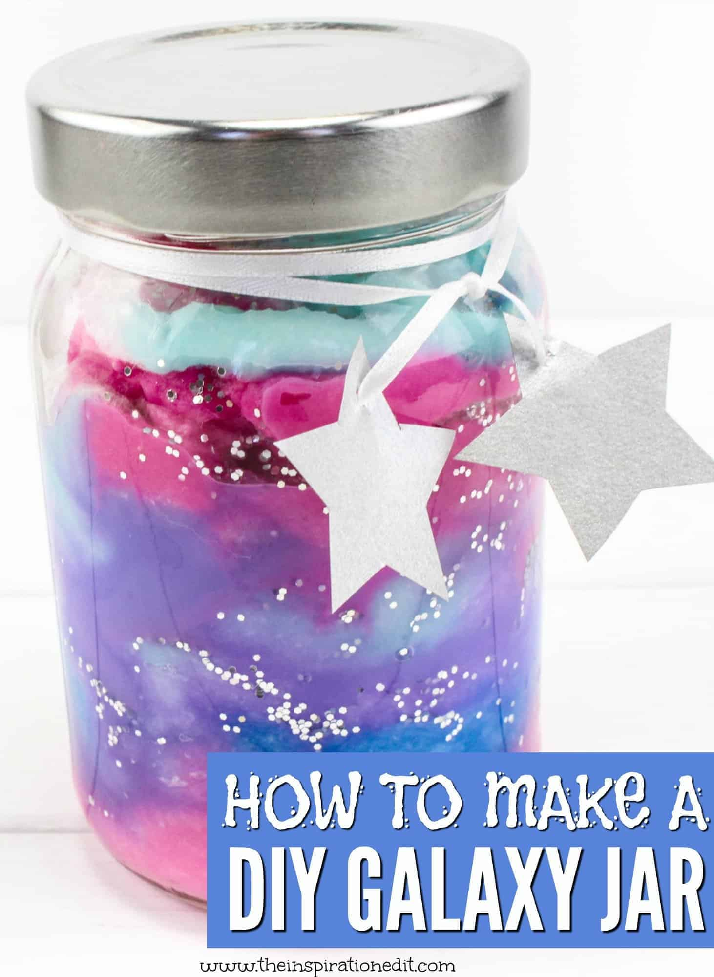 how to make galaxy jars