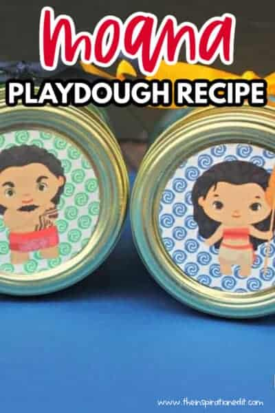 moana playdough recipe