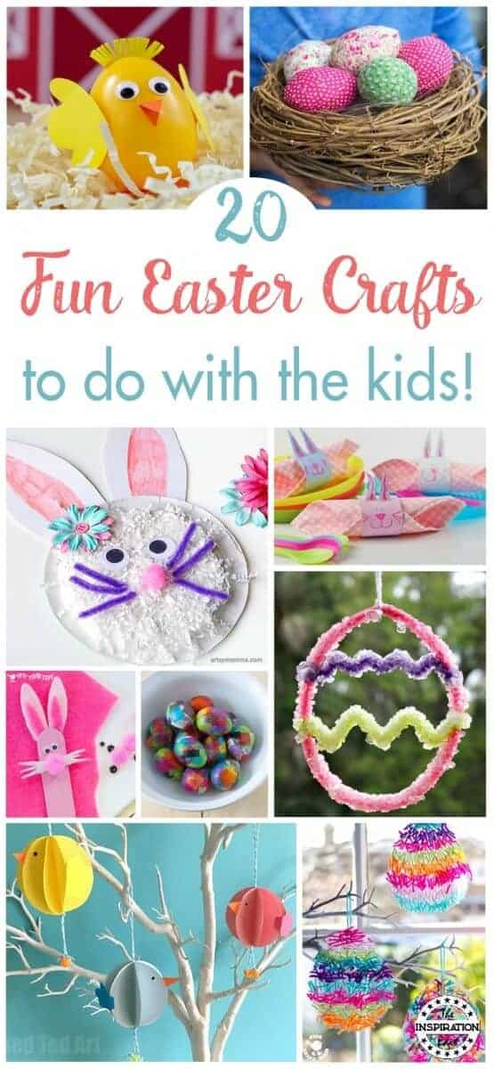 fun easter crafts for kids