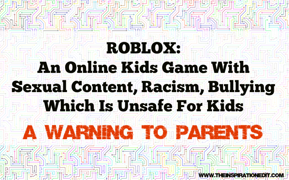 roblox sexual content warning