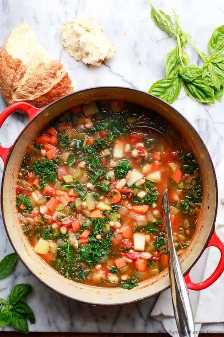 white bean kale gastric bypass soup