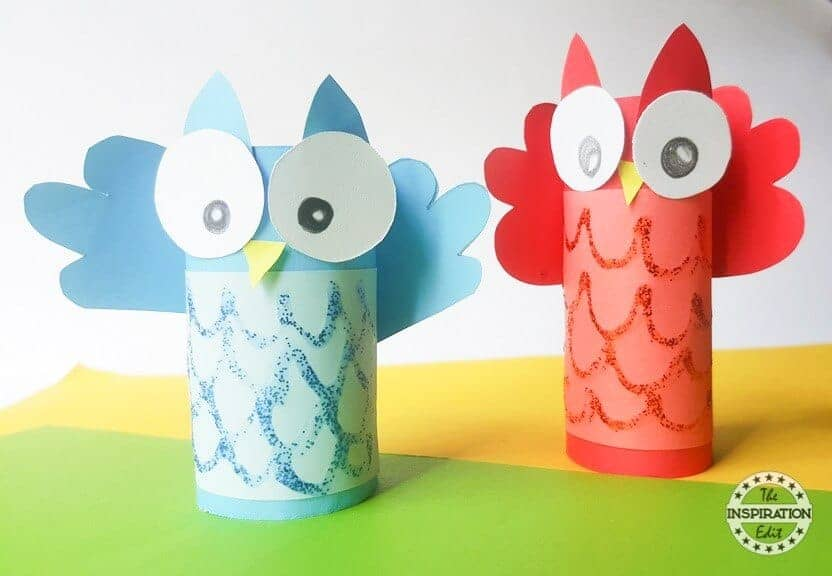 owl paper craft