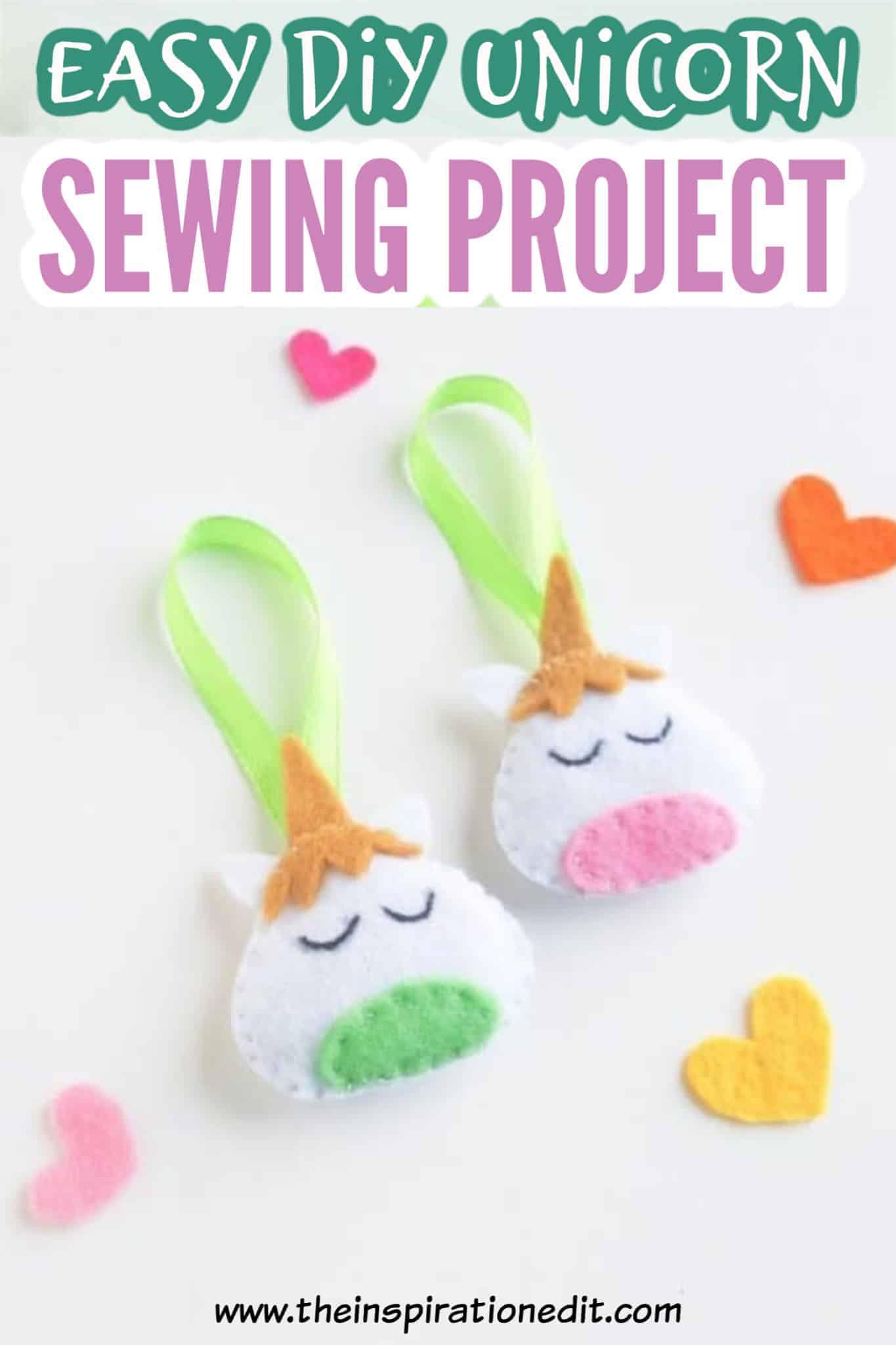 easy unicorn sewing craft idea fr kids