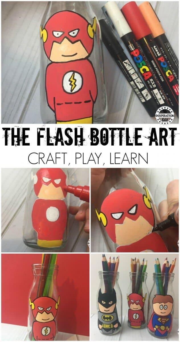 FLASH superhero craft