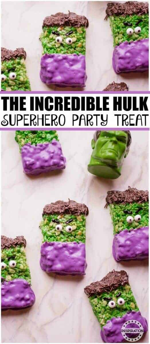 the incredible hulk party treats