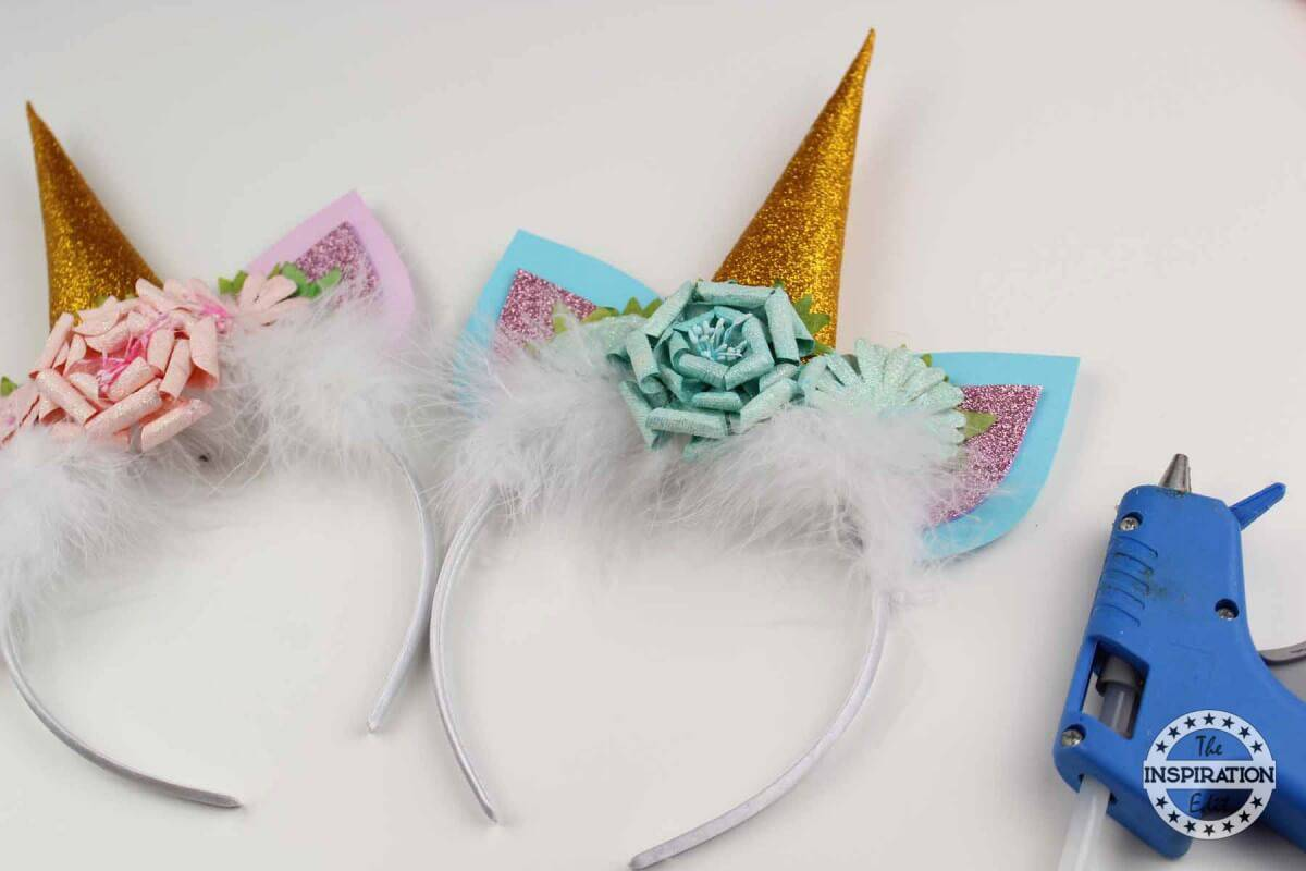 DIY Unicorn Headband Tutorial With Free Template