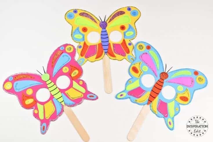 DIY Butterfly Mask