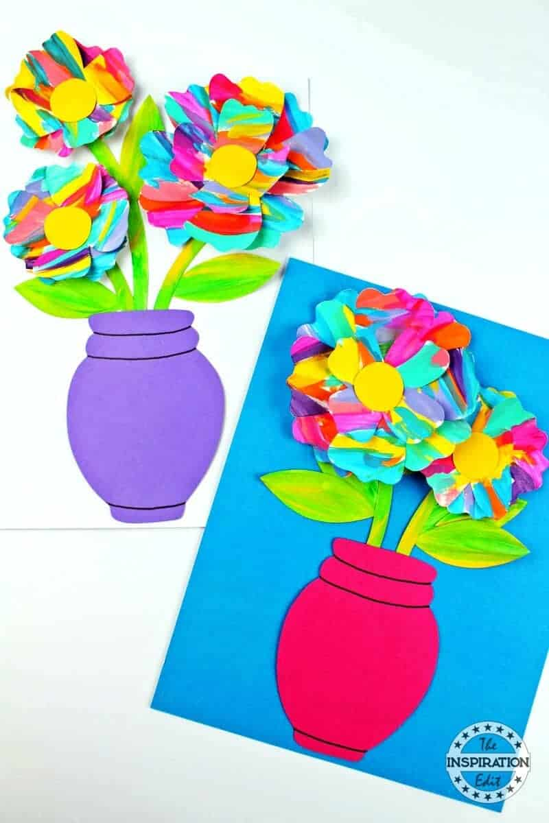 Painted Flower Craft