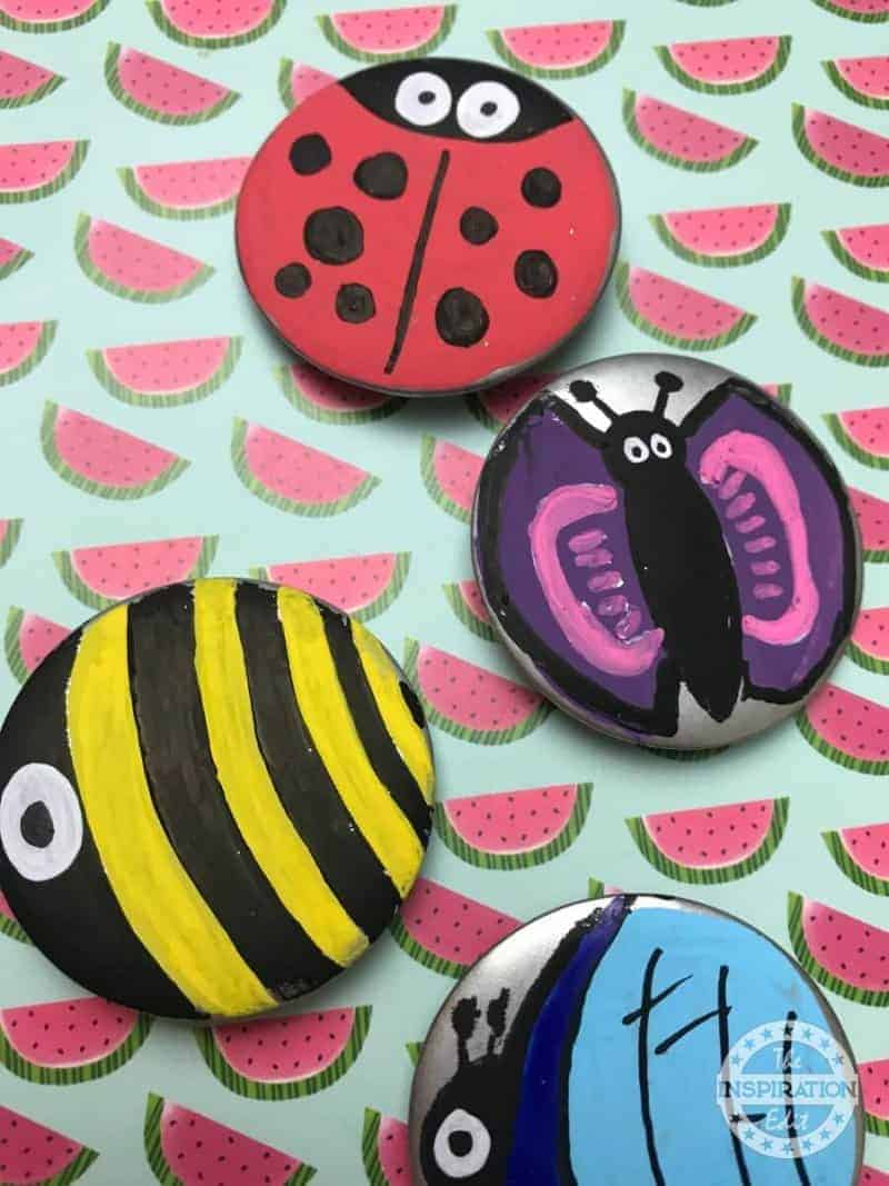 Recycled Badge Bugs