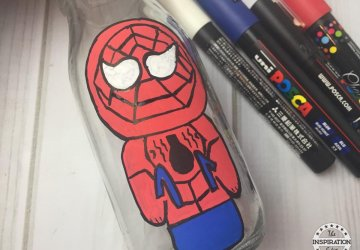 spiderman craft for kids to make