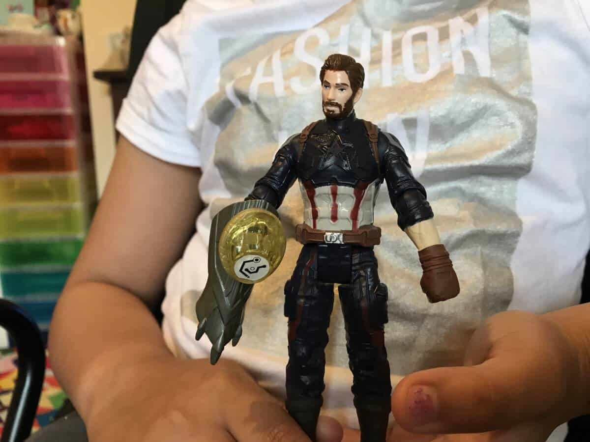 Captain America Toy Figure