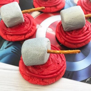 Thor Cookies For Superhero Parties