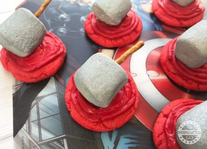 thor superhero cookies you will love the inspiration edit
