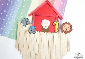 noahs ark popsicle stick craft