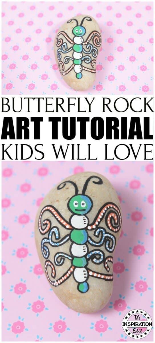 Butterfly Rock Stone Tutorial