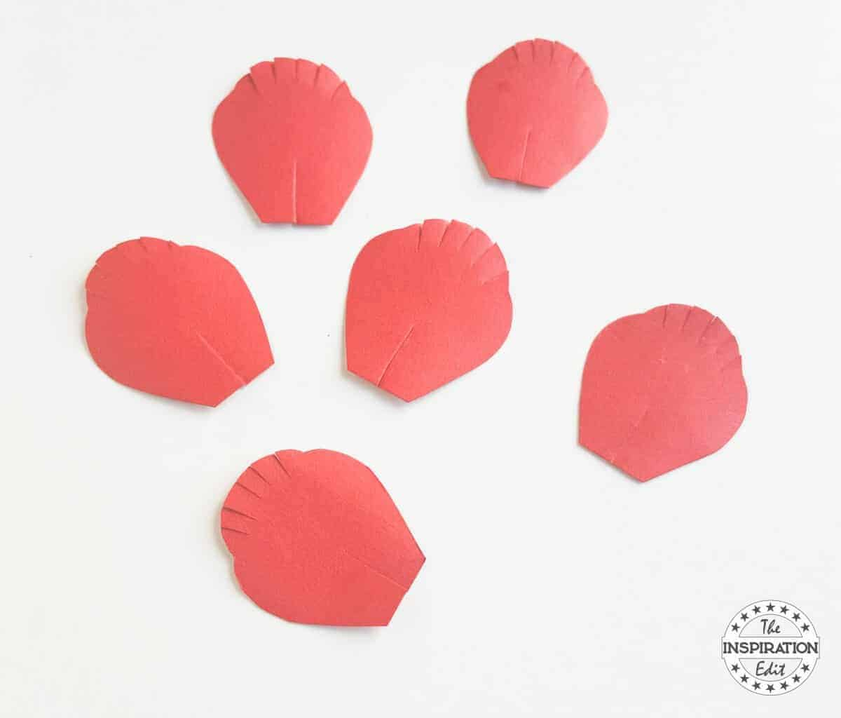 Poppy Flower With Poppy Craft Template · The Inspiration Edit