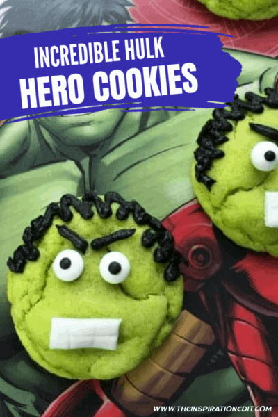 The Incredible Hulk Superhero Cookies