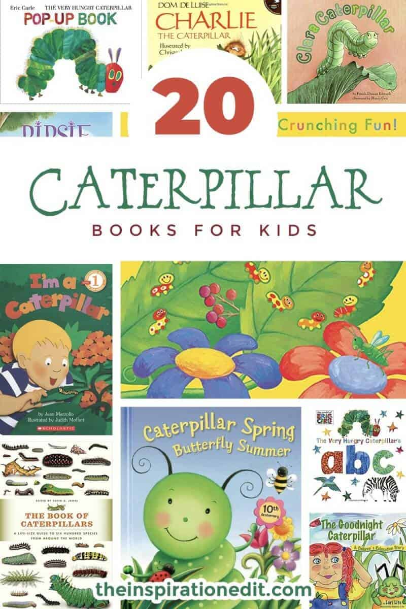 caterpillar books for kids