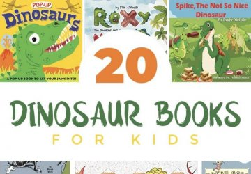 kids dinosaur books