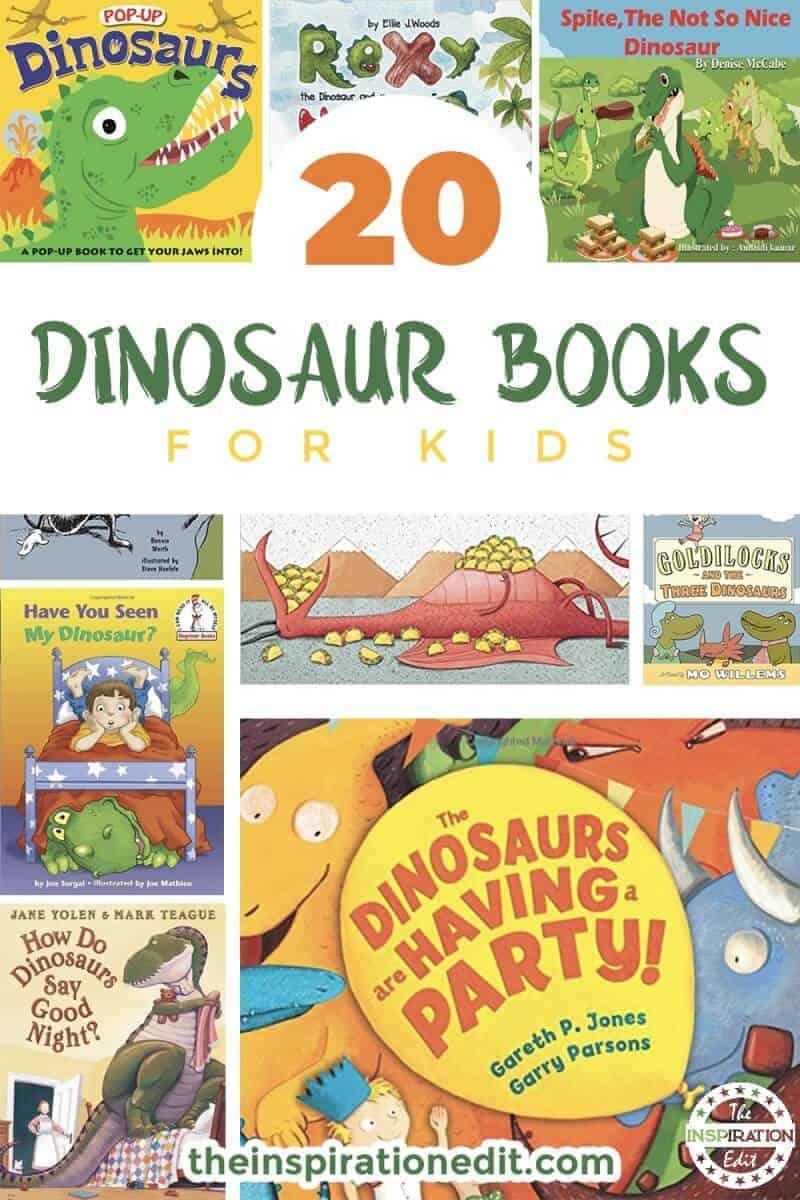 kids dinosaur books